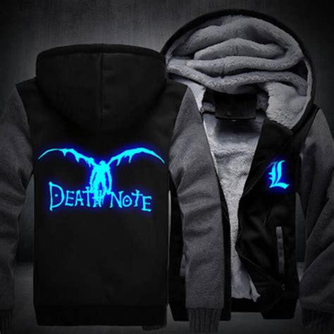 Note Jacket Jaket Hoodie L Deathnote Anime heavy note hoodie