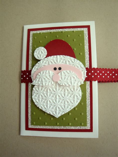 Santa Gift Card Holder - penguinster punch art santa gift card holder