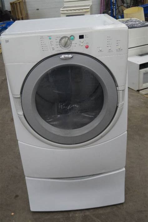 Whirlpool Laundry Pedestal Drawer For Duet by Whirlpool Duet Dryer With Pedestal Drawer Moorhead