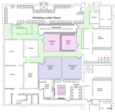 locker room floor plans floor plans ashland men s basketball locker room renovation
