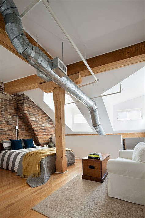 loft bedroom designs penthouse loft bedroom in an old historic building decoist