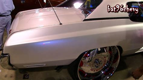 pearl white 1973 chevy caprice quot forgiato donk quot on 30