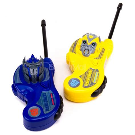 Walkie Talkie Transformer transformers handheld walkie talkies 5352