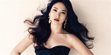 model rambut panjang ala artis korea bisa dicontoh