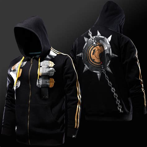 Hoodie Overwatch blizzard overwatch junkrat hoodies ow zip up sweatshirts blizzard overwatch