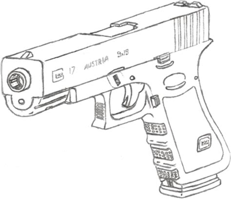 9mm Drawing by How To Draw 9mm