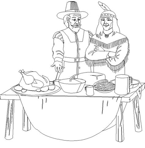 coloring pages for thanksgiving feast thanksgiving feast coloring pages gt gt disney coloring pages