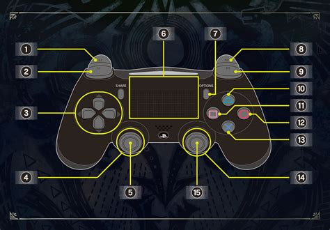 Ps4 Dual Shock Mhw Original world official web manual basic controls