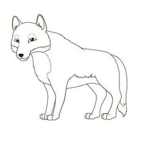 imagenes para dibujar un lobo un lobo 14 dibujos de animales del co para colorear