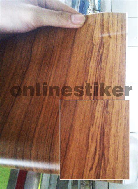 Vinyl Pelapis Triplek jual stiker meteran motif kayu osstiker