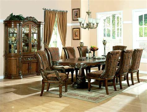 formal cherry dining room sets estelle cherry brown finish formal dining room set