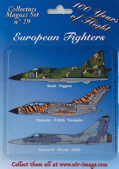 Fridge Mega Set fridge magnets set european fighters aviationmegastore