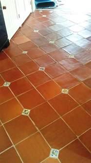 Vinyl Tile Floor Sealer by Cleaning Terracotta Floor Tiles Near Boston Lincolnshire