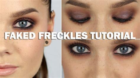 eyeliner tutorial linda hallberg faked freckles tutorial with subs linda hallberg
