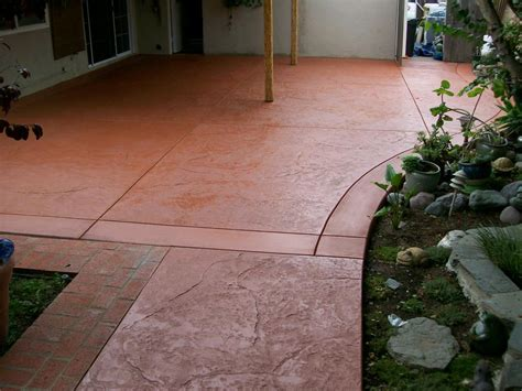 Staining Cement Patio by Concrete Stain 171 Masonry And Concrete