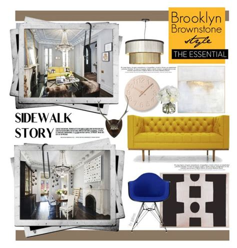 home decor design brooklyn quot brooklyn brownstone style quot by gabree liked on polyvore