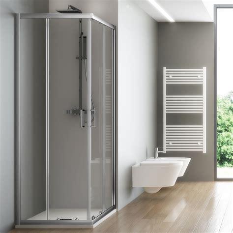 cabina doccia rettangolare box doccia rettangolare 80x100 cristallo temperato