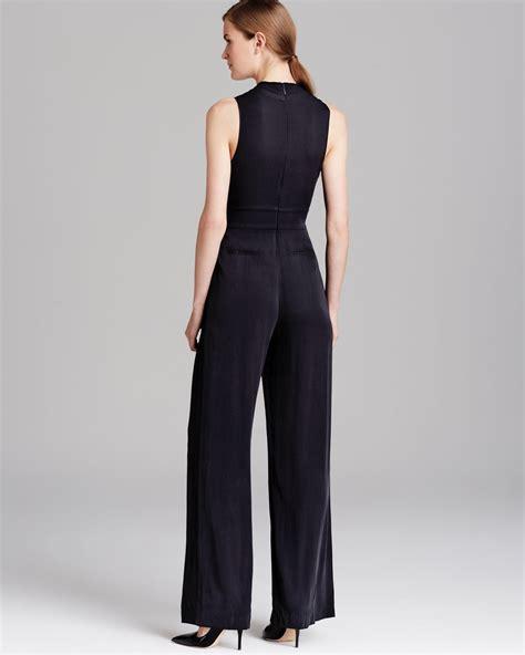 Jumpsuit Marion lyst catherine malandrino jumpsuit marion in black