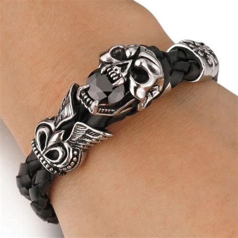 Gelang Dominica Leather Bracelets 44 best cincin gelang images on