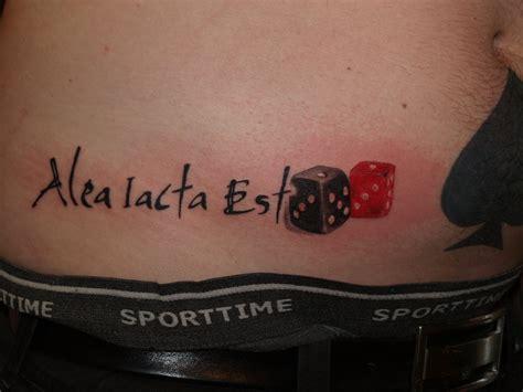 est tattoos alea iacta est by torsk1 on deviantart