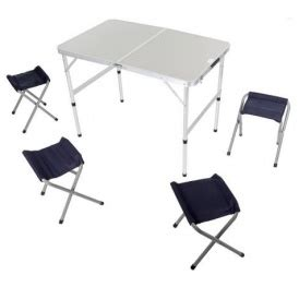 Folding Picnic Table And Stools by Folding Picnic Table 4 Stools 163 22 40 With Free Delivery