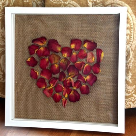 diy rose petal wall art hgtv