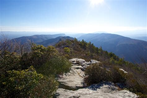 Table Rock Cground by Linville Gorge Cing Carolina S Table Rock