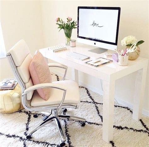 feminine desk chair office inspiration steph style