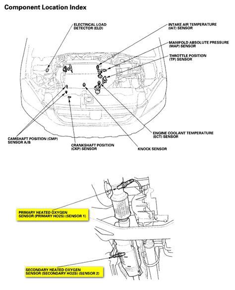 Honda Crv P0341 Camshaft Sensor Location 2004 Honda Crv Get Free Image
