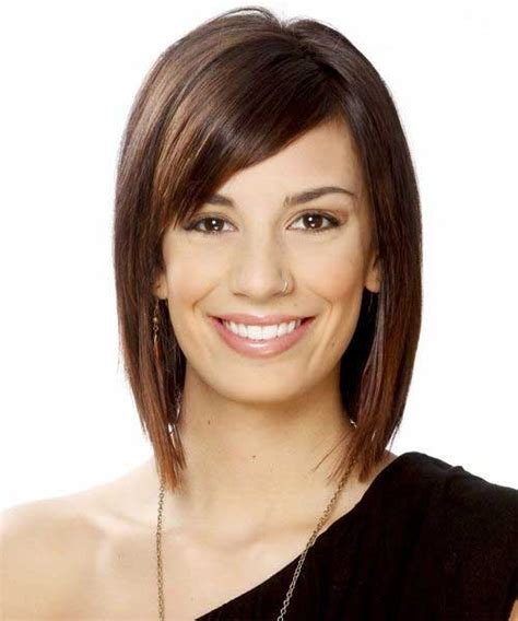 hairstyles for straight hair with side bangs 20 short bobs with side bangs bob hairstyles 2017