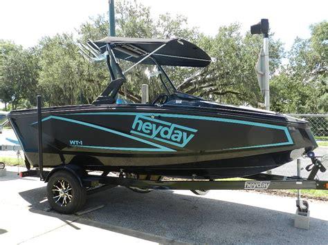 heyday boat weight 2018 heyday wt 1sc side console wake boat w 5 7l crusader