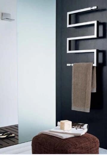 Modern Bathroom Towel Rack Nameeks Scirocco Snake 50 9010 Modern Towel Bars And