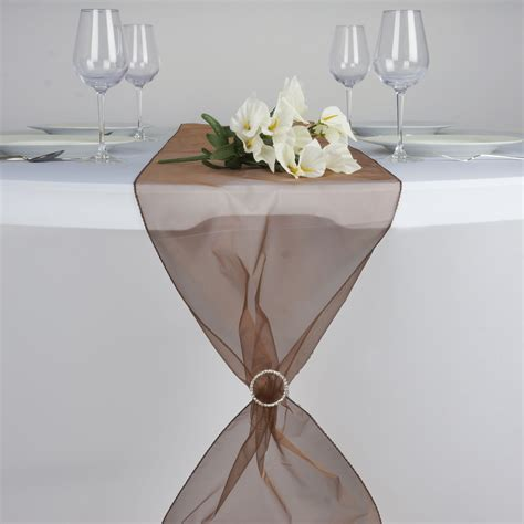 organza table runners wedding 20 organza 14x108 quot table runners wedding reception