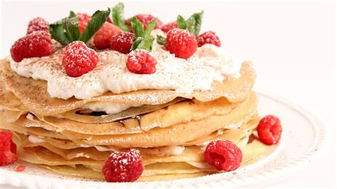 In The Kitchen Recipes by Nutella Crepe Cake Recipe Vitale In The