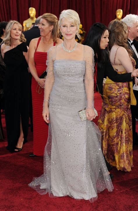 Helen Mirren Went Commando At Oscars by Oscars Fug Carpet Kate Winslet Well Played Carpet Helen