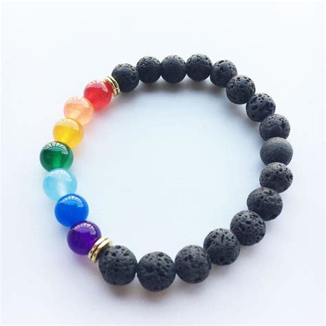 Limited Edition 9 Strips Bracelet Trendy Pastel Colors new pastel color 7 chakra lava bracelet chakra