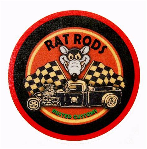 Rat Rod Stickers