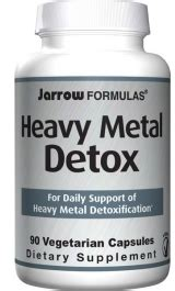 Ultimate Heavy Metal Detox by Jarrow Formulas Toxguard Heavy Metal Detox Priceplow