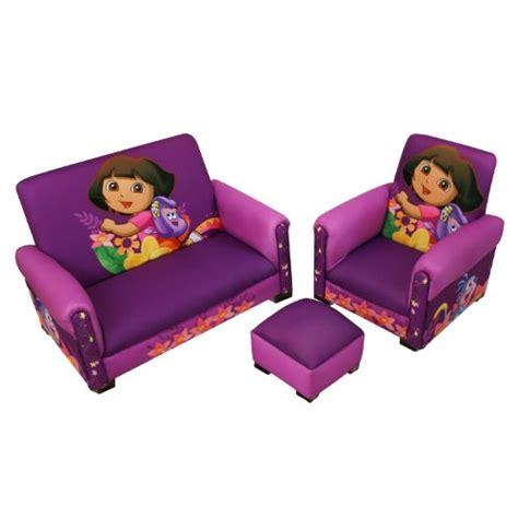 dora the explorer recliner this deals nickelodeon dora hiking deluxe toddler sofa