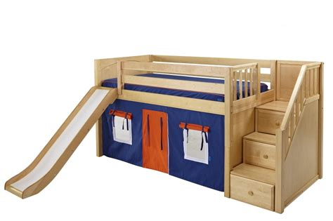 bed with slide the interesting inspiration of kids bunk beds with slide