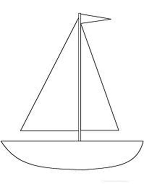 sailboat template for preschool monthly bulletin board ideas on august