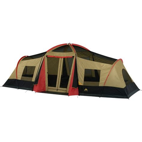 ozark trail 10 person 3 room cabin tent ozark trail 10 person 3 room xl cing tent walmartcom