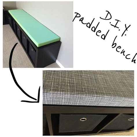 bench cushions diy diy bench cushions we the o jays and drawers