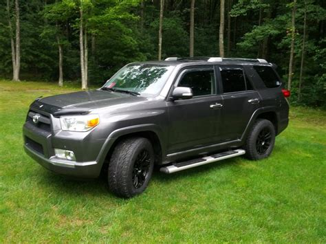 largest toyota biggest tire size you put on a stock 2014 toyota 4runner