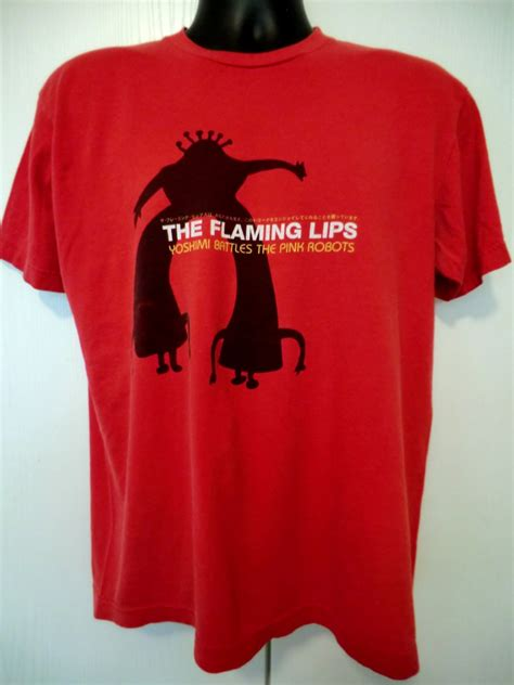 sold the flaming t shirt size large yoshimi battles the pink robots