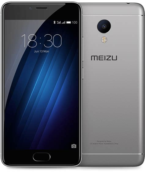 Meizu M3s Y685h 16gb Gray meizu m3s 2gb 16gb grey