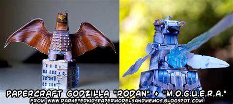 Godzilla Papercraft - ninjatoes papercraft weblog godzilla rodan and m o g u e