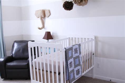 diy neutral baby boy nursery project nursery