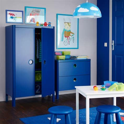 Superbe Meuble De Rangement Chambre Garcon #1: Meuble-de-rangement-enfant-ikea-bleu.jpg