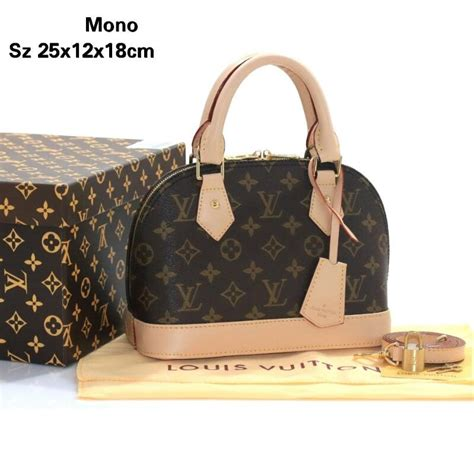 Tas Lv Alma Mini by Jual Beli Tas Import Mini Alma Monogram Vs0217lv Semi